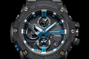 Blue Note Records x G-Shock G-STEEL GSTB100BNR-1A