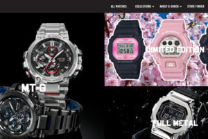 G-Shock UK is selling imported models and limited editions