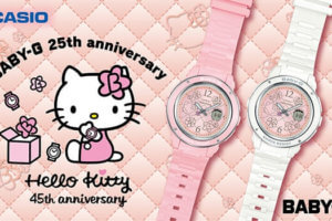 "Hello Kitty x Baby-G ""Pink Quilt Series"" Collaboration for 2019: BGA-150KT-4B and BGA-150KT-7B"