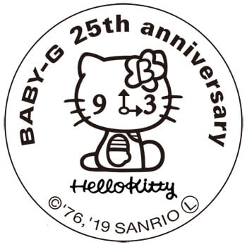 hello kitty x baby g pink quilt series collaboration for 2019 g Casio MTG Watches hello kitty x baby g pink quilt series collaboration for 2019 case back