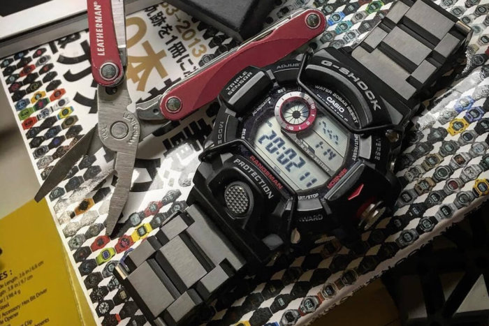 JaysAndKays Stainless Steel Band for G-Shock Rangeman