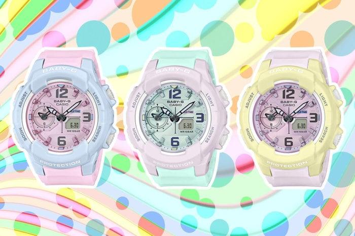 Baby-G BGA-230PC-2B BGA-230PC-6B BGA-230PC-9B BGA-230PC Pastel Color Series