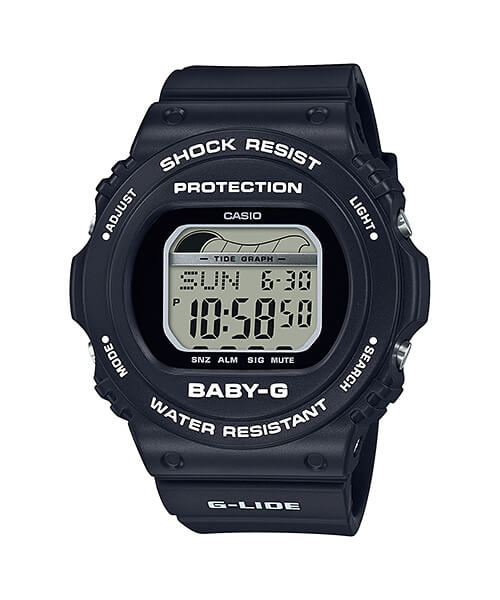 Baby-G G-LIDE BLX-570-1 with Tide Graph