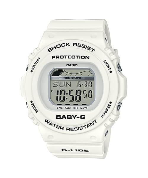 Baby-G G-LIDE BLX-570-7 with Tide Graph