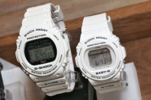 Baby-G G-LIDE BLX-570-7 White with Tide Graph