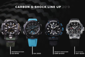 Carbon G-Shock 2019 Catalog