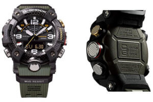 G-Shock GG-B100 Mudmaster with Quad Sensor Step Counter and Carbon Fiber Bezel