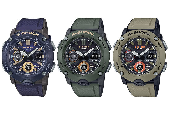 G-Shock GA-2000 Military Color Series – G-Central G-Shock Watch Fan Blog