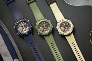 G-Shock GA-2000 Military Colors: Blue, Green, Brown
