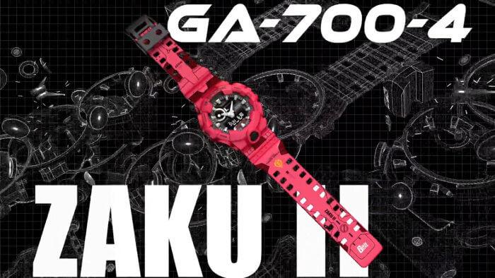 GA-700-4APRGD MS-065 Char's Zaku II