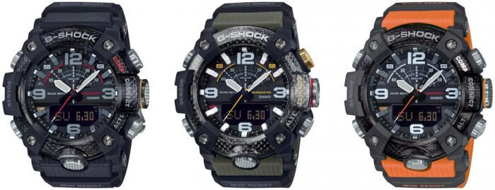 G-Shock GG-B100 Mudmaster GG-B100-1A GG-B100-1A3 GG-B100-1A9
