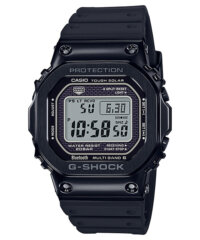 G-Shock GMW-B5000G-1 Black IP with Black Resin Band