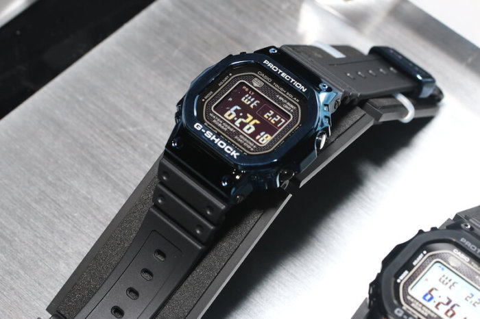 G-Shock GMW-B5000G-2 Blue IP Resin Band