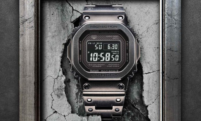 G-Shock GMW-B5000V-1 with Black Aged IP