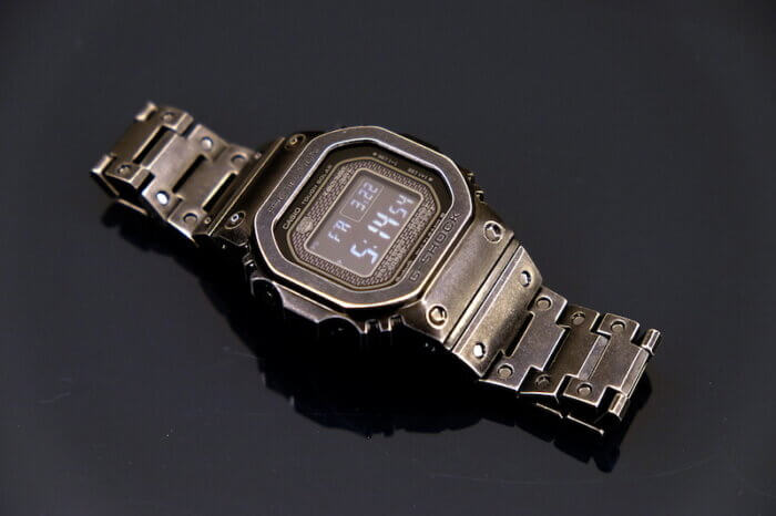 G-Shock GMW-B5000V-1 Vintage Style with Aged Black IP Finish