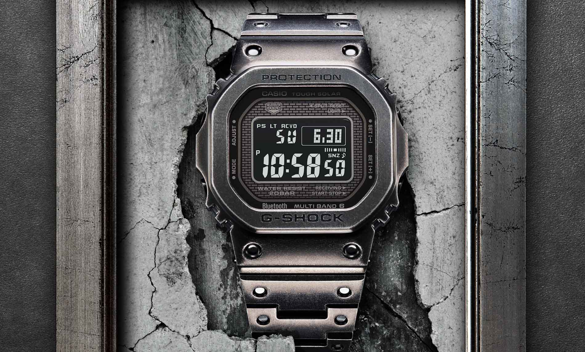 G-Shock GMW-B5000V-1 with Black Aged IP – G-Central G-Shock Watch Fan Blog
