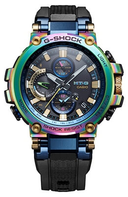 G-Shock MTG-B1000RB with Rainbow Ion Plating