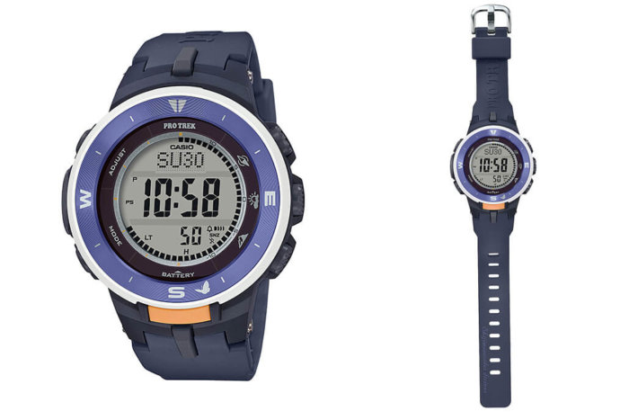 Japan Nature Conservation Association (NACS-J) x Casio Pro Trek PRG-330SD-2JR