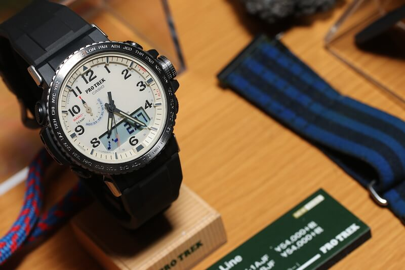 Pro Trek PRW-50: Like the PRW-60 with new style – G-Central G-Shock Watch Fan Blog