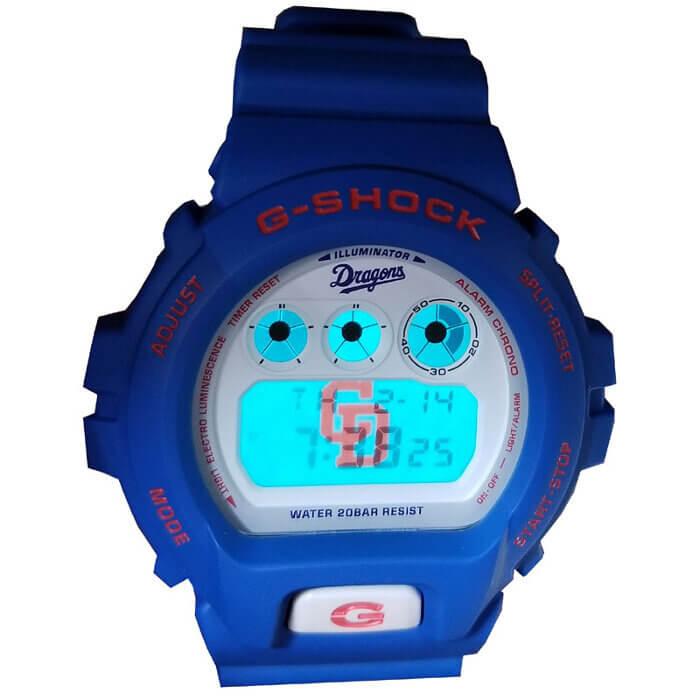 Chunichi Dragons x G-Shock DW-6900 EL Backlight