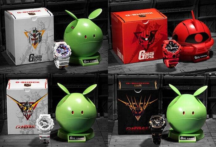 Gundam 40th Anniversary x G-Shock Collaboration in China