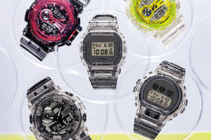 G-Shock Clear Skeleton Series
