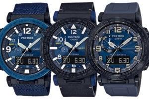 Pro Trek Navy Blue Series PRG-600YB-2 PRG-650YL-2 PRW-6600Y-2JF
