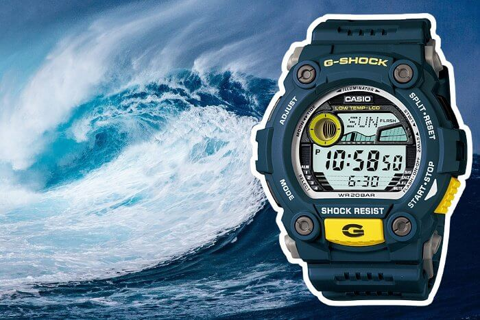 G-Shock G-RESCUE G-7900-2 Blue and Yellow