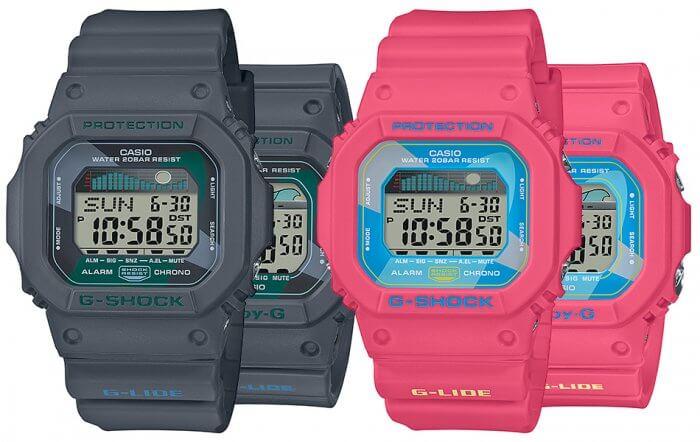 G-Shock Baby-G Vintage Hawaii: GLX-5600VH-1 GLX-5600VH-4 BLX-560VH-1 BLX-560VH-4