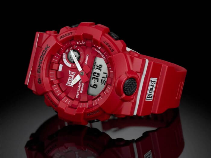 Everlast x G-Shock GBA-800EL Collaboration Watch