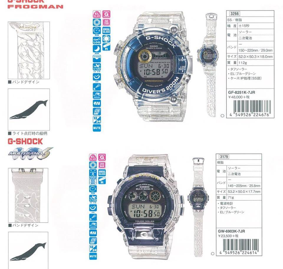 G-Shock Frogman GF-8251K-7JR & GW-6903K-7JR I.C.E.R.C. 2019 – G-Central G-Shock Watch Fan Blog