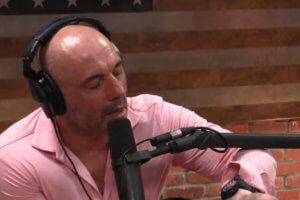 Joe Rogan wearing Casio Pro Trek Wristwatch