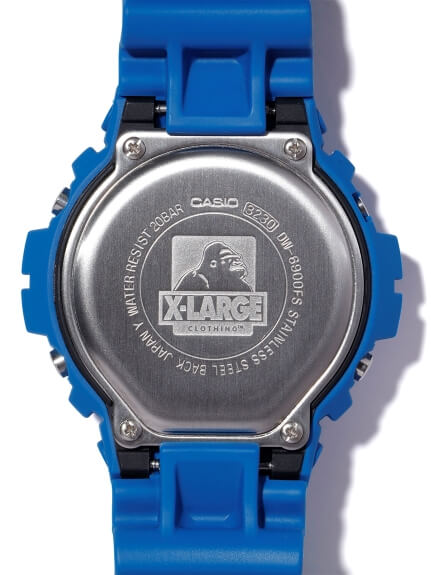XLARGE x G-Shock DW-6900 for 2019 Case Back