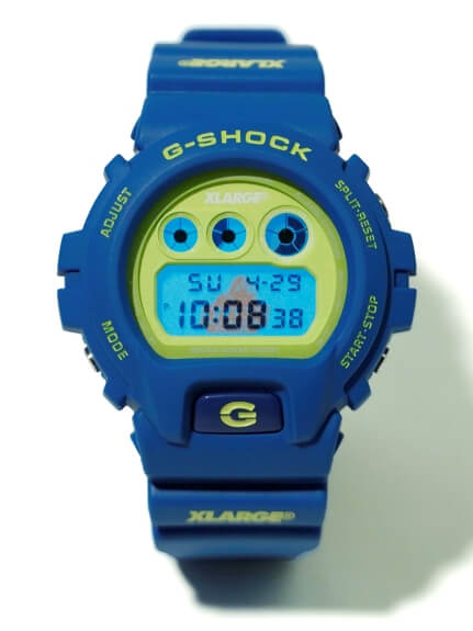 XLARGE x G-Shock DW-6900 for 2019 EL Backlight