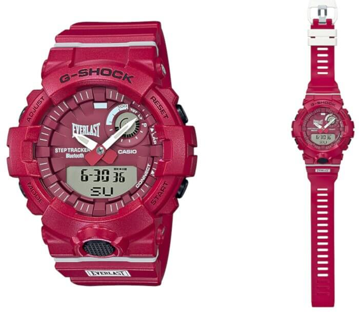 Everlast x G-Shock GBA-800EL-4A Collaboration Watch