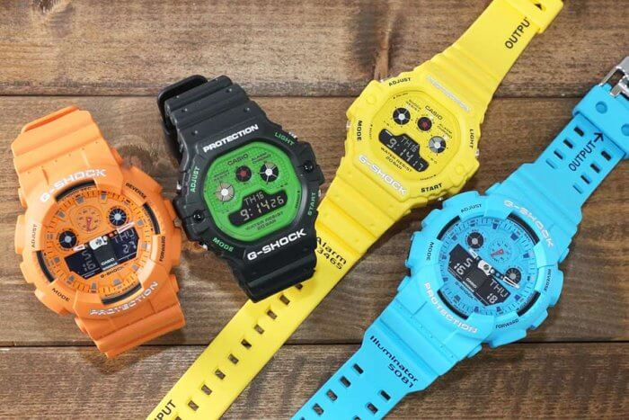 G-Shock Hot Rock Sounds