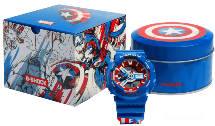 G-SHOCK GA-110CAPTAIN-2PR CAPTAIN AMERICA