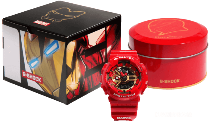 G-SHOCK GA-110IRONMAN-4PR IRON MAN