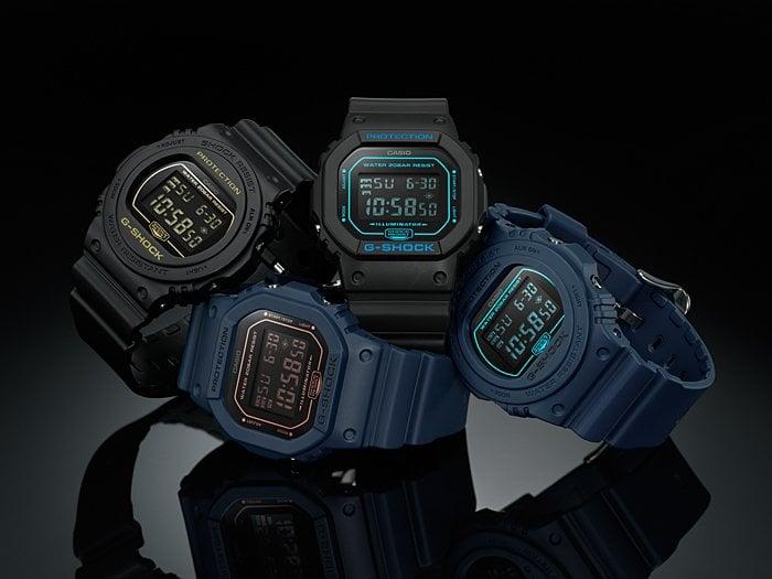 G-Shock DW-5600BBM-1 DW-5600BBM-2 DW-5700BBM-1 DW-5700BBM-2