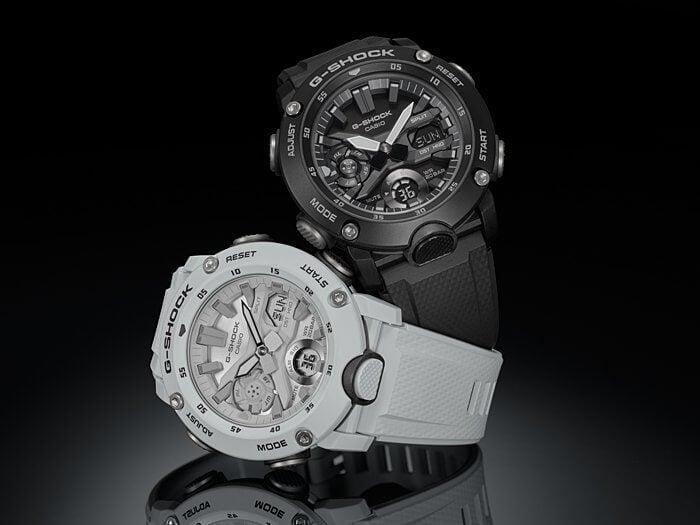 G-Shock GA-2000S Black and White