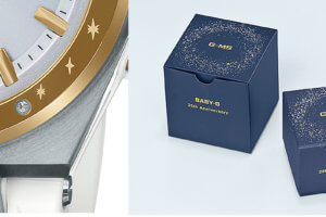 Baby-G MSG-W225-7AJR with Swarovski Crystal for 25th Anniversary