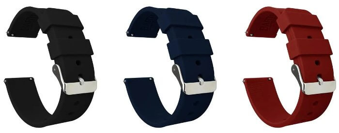 Barton Silicone Quick Release Replacement Band for G-Shock GA-2000 Strap