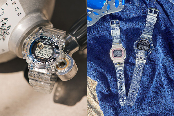 Love The Sea And The Earth 2019 G-Shock & Baby-G x I.C.E.R.C. Collaboration 25th Anniversary Frogman GF-8251K-7JR GW-6903K-7JR BGD-5001K