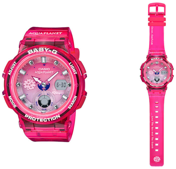 a2766862ad19 Baby-G BGA-250AQ-4A Aqua Planet 2019 Collaboration – G-Central G ...