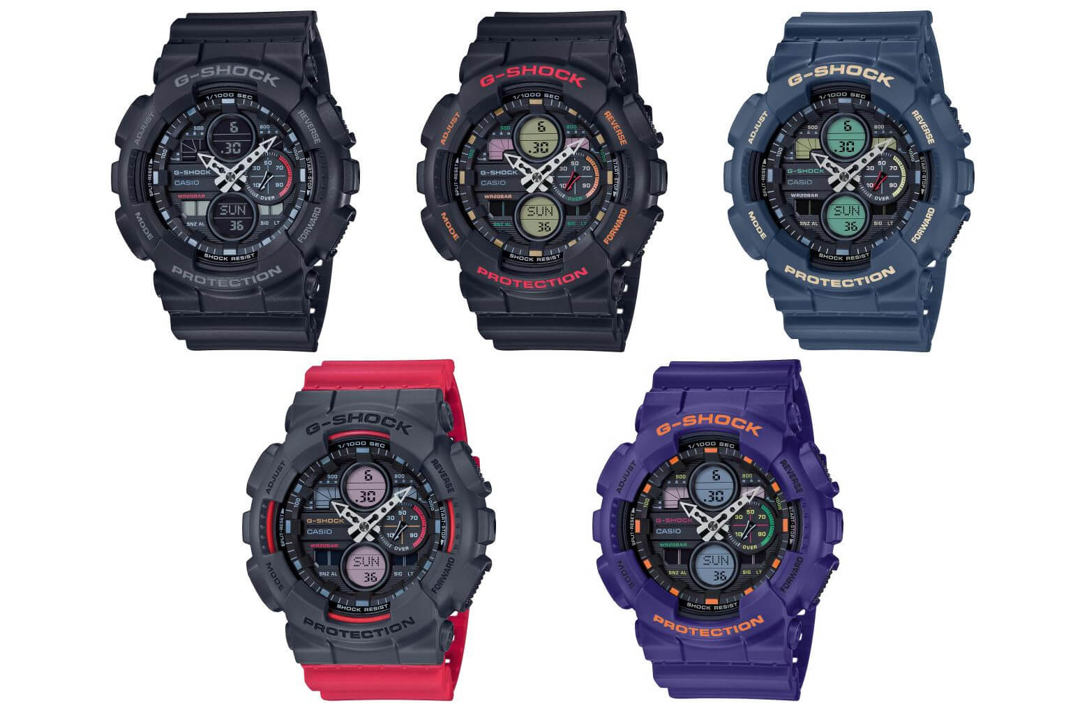 G-Shock GA-140 Analog-Digital Series – G-Central G-Shock Watch Fan Blog