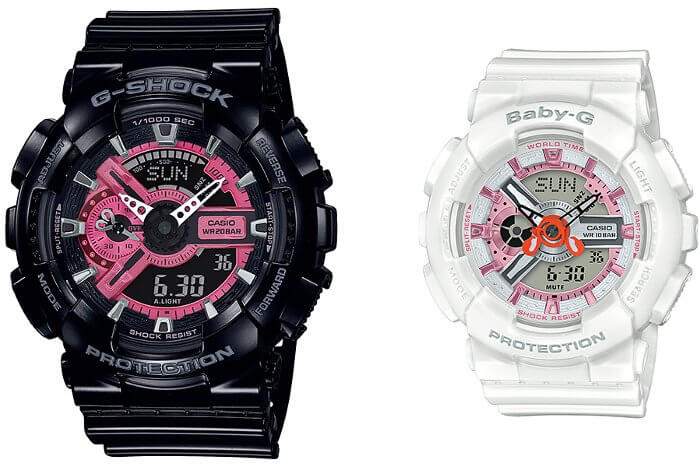 SLV-19A-1A G-Shock and Baby-G Special Pairs Collection 2019