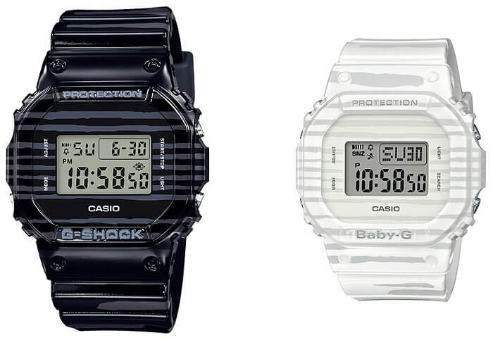 SLV-19B-1 G-Shock and Baby-G Special Pairs Collection 2019