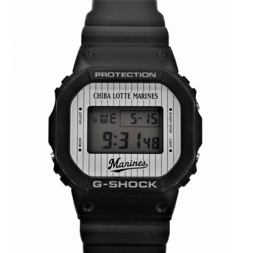 Chiba Lotte Marines x G-Shock DW-5600 for 2019 – G-Central G-Shock Watch Fan Blog