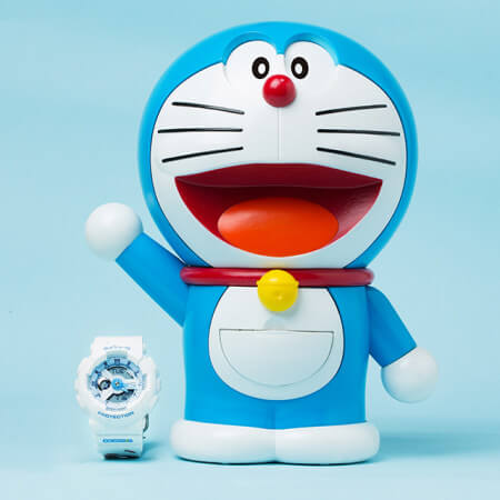 Baby-G Doraemon Figure Case