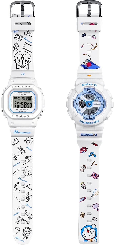 Doraemon x Casio Baby-G BA-110BE-7APRDL BGD-560-7PRDL